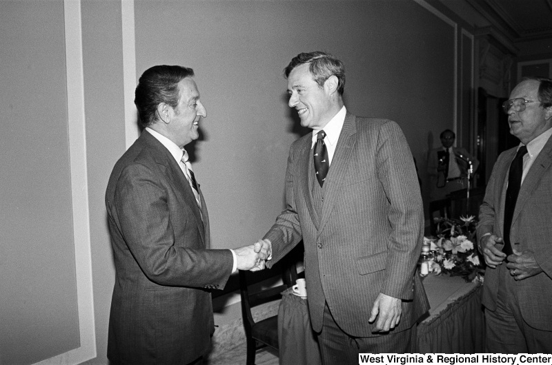 Photograph of Congressman Bill Green (NY) with actor Danny Thomas