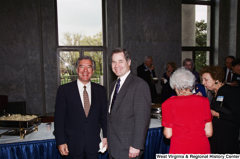 Photograph of Congressmen Nick Rahall and Alan Mollohan
